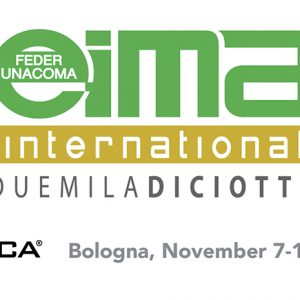 EIMA 2018 – International Agricultural and Gardening Machinery Exhibition